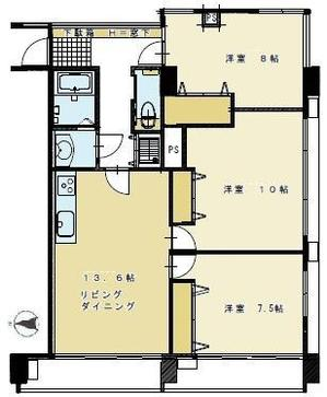 第三宮廷マンション605号室 平面図.jpg