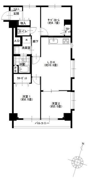 ハイネス麻布801号室 (1).jpg