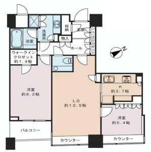 パークコート赤坂ザタワー16階【間取り】.jpg
