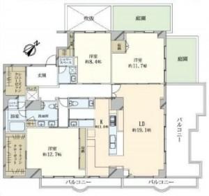 ベルテ南青山-Ⅰ5F (1)